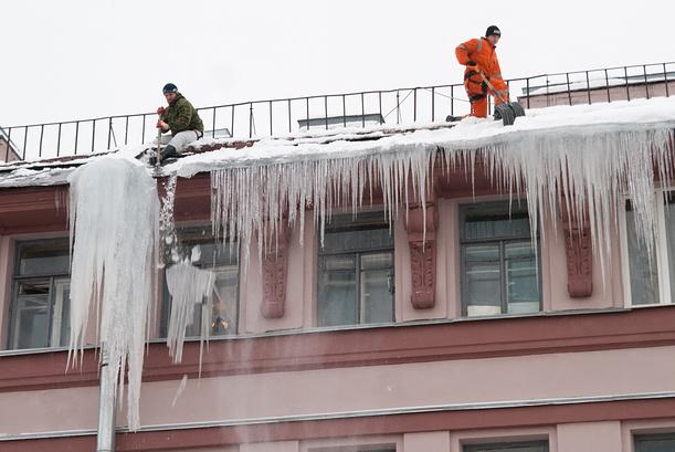 Регламент очистки кровель от снега и наледи